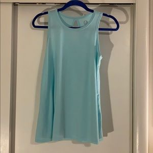 Juniors swing tank with keyhole back